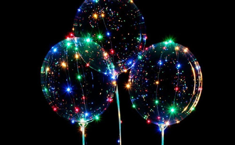 A melancolia dos balõesluminosos